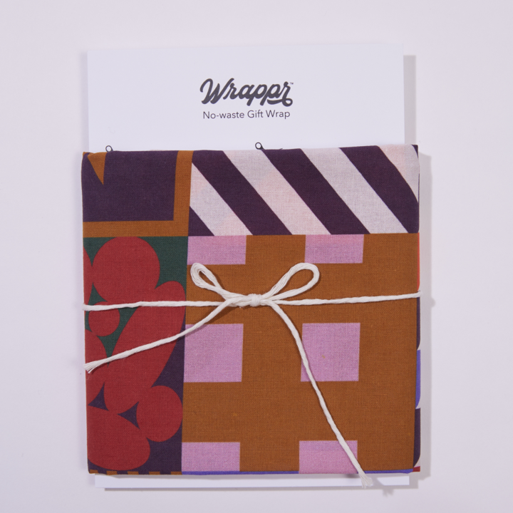 Magic Wrapper Reusable & Compostable Furoshiki-Inspired Gift Wrap