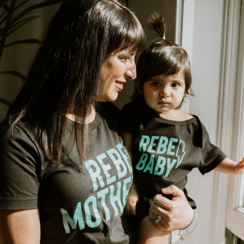 Rebel Mother Adult T-Shirt