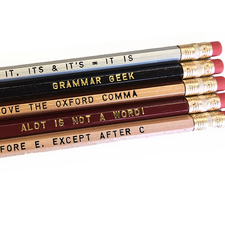 Grammar Pencil Set