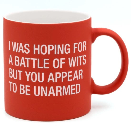 Battle of Wits Mug