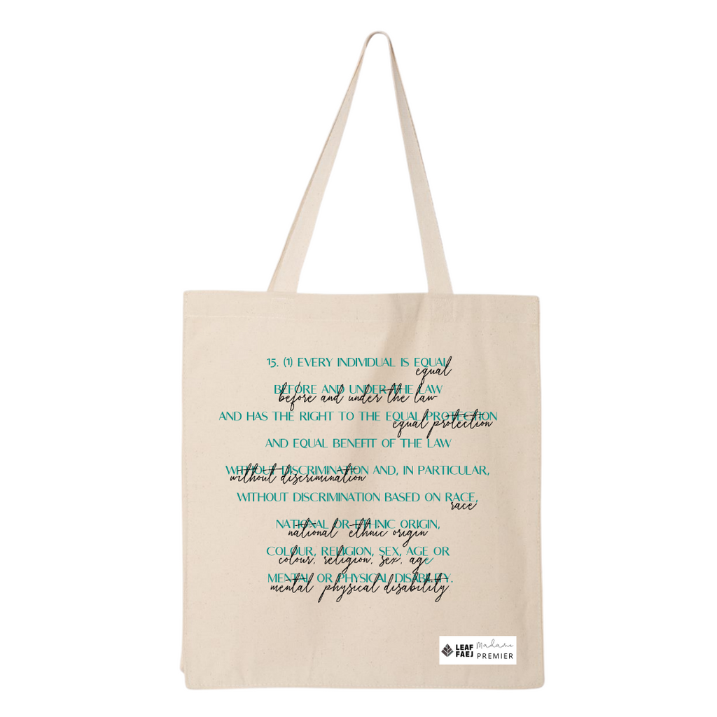 LEAF Section 15(1) Fundraising Tote Bag