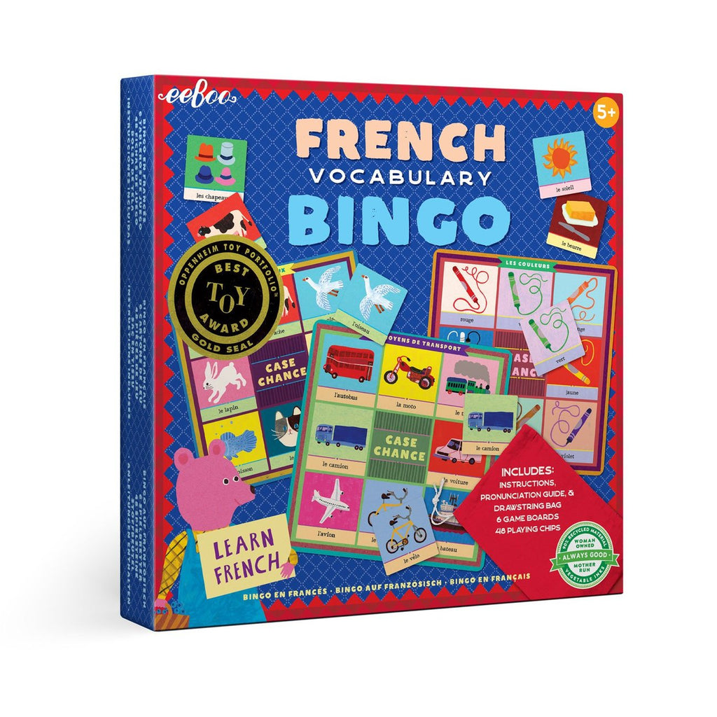 French Vocabulary Bingo