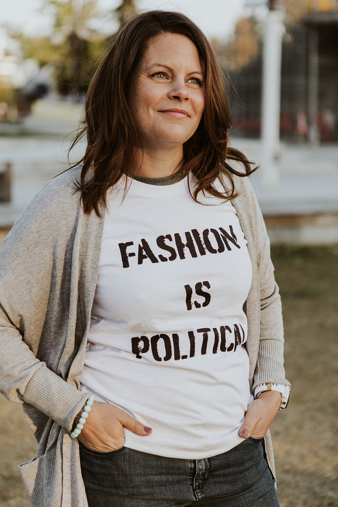 Fashion Is Political Adult Unisex T-Shirt