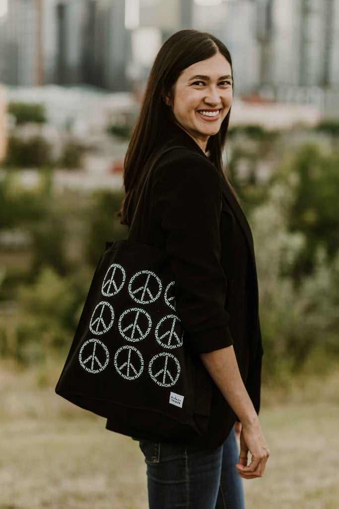 Women for Peace Tote Bag