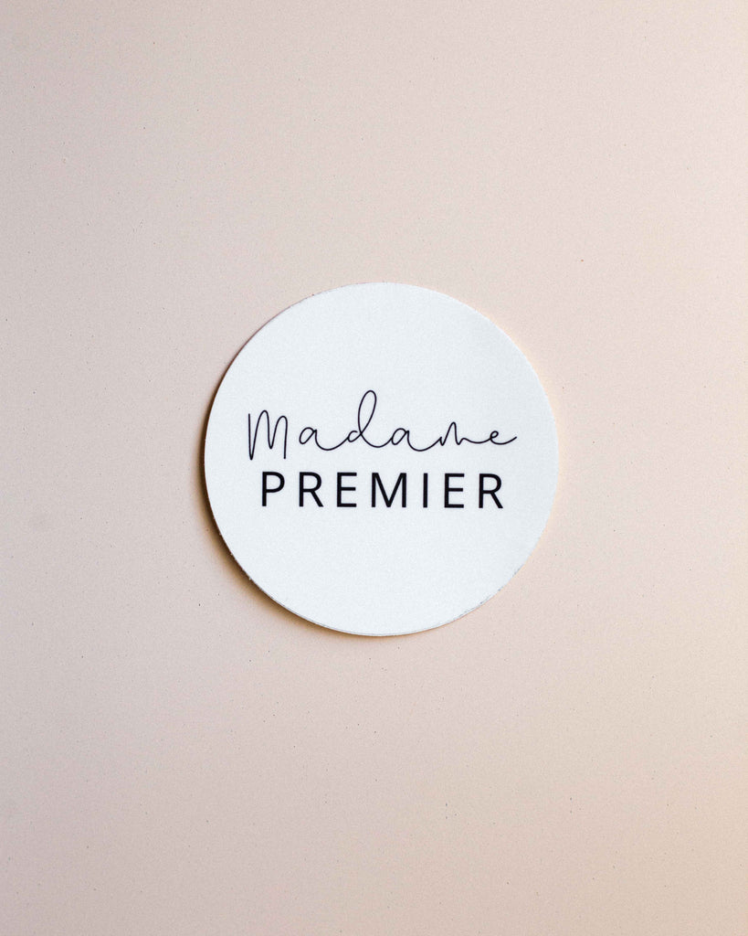 Madame Premier Logo Sticker