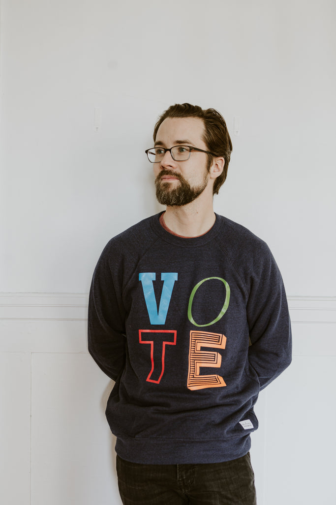 Multi-Partisan Vote Adult Unisex Crewneck Sweater