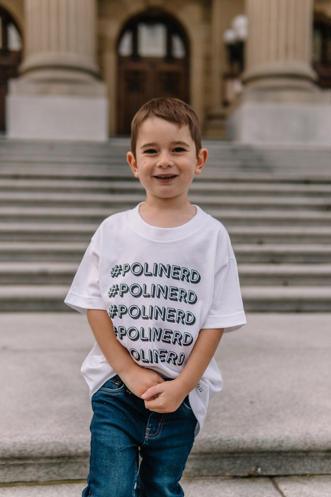 #Polinerd Youth T-Shirt