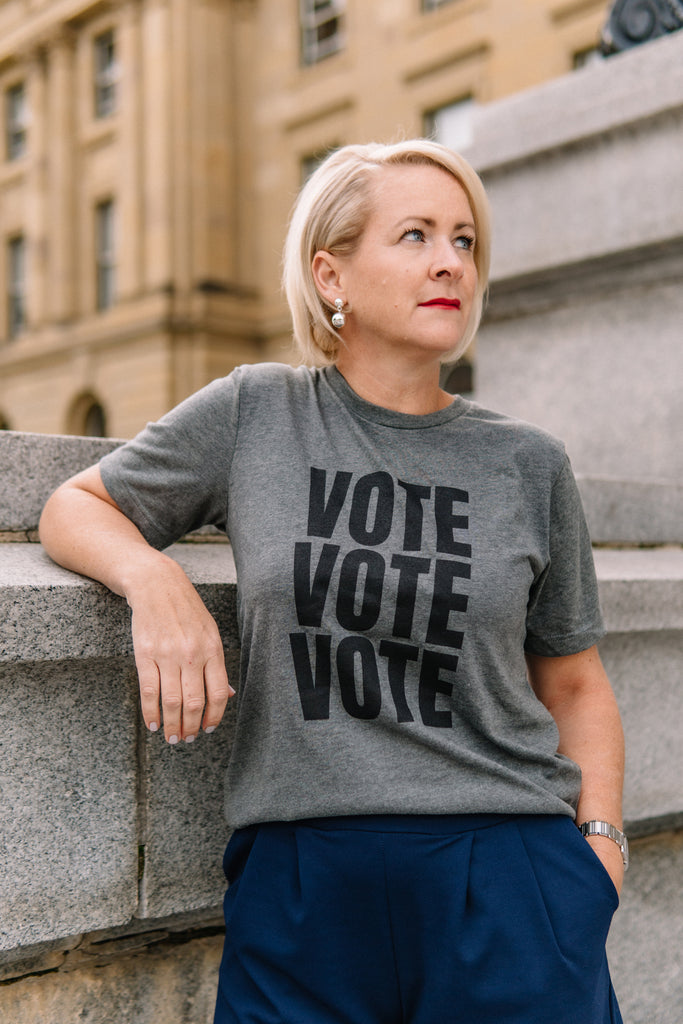VOTE VOTE VOTE Adult T-Shirt