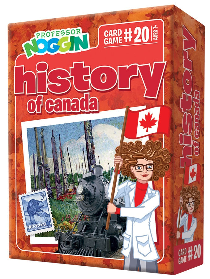 Professor Nogin History of Canada Kids Game