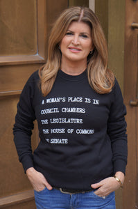A Woman's Place New Adult Crewneck Sweater