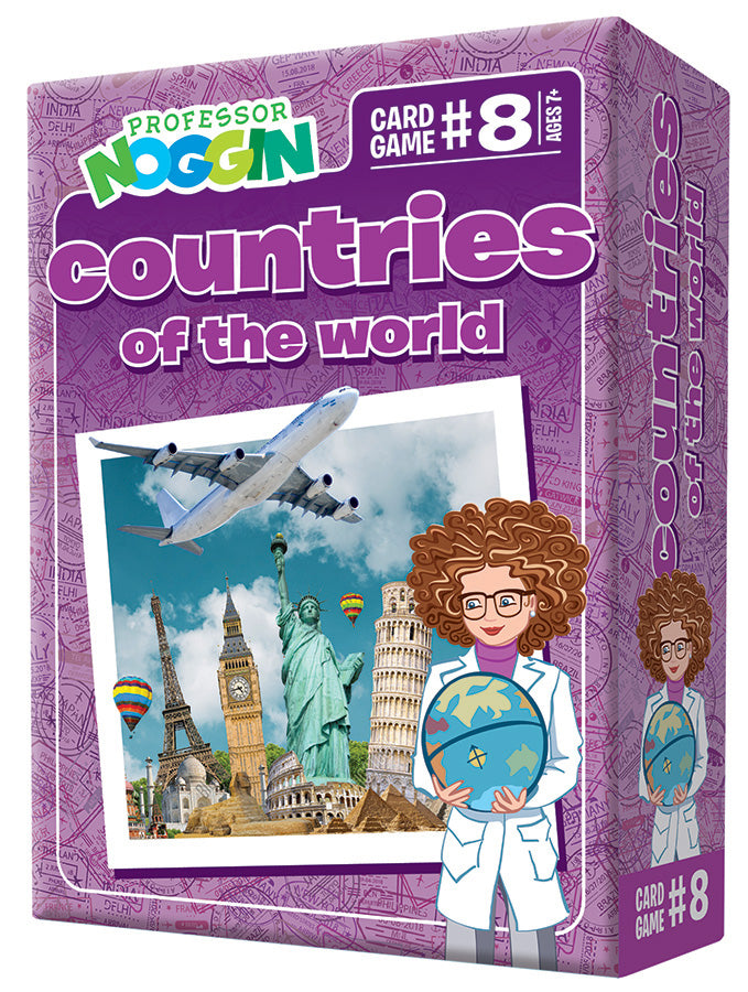 Professor Nogin Countries of the World Kids Game