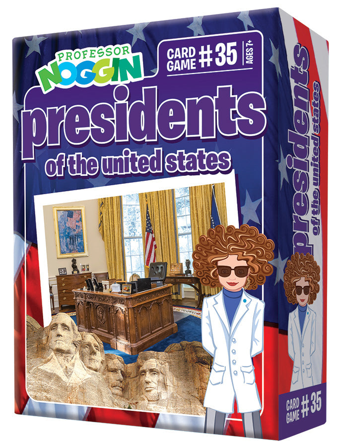Professor Nogin Presidents of the USA Kids Game