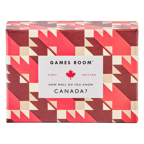 How Well Do You Know Canada Card Game