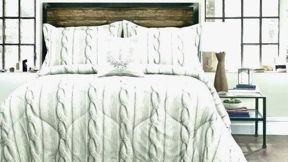 Diy Cable Knit Comforter