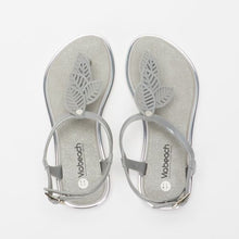 Load image into Gallery viewer, Viabeach Marble Open Toe Sandal (Silver)