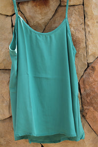 Love That Chiffon Blouse (Teal)