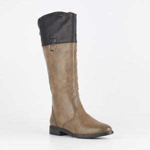 Miss Black Grey Journey Boot