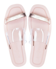 Load image into Gallery viewer, Saint&Summer Linger Sandal (Clear)
