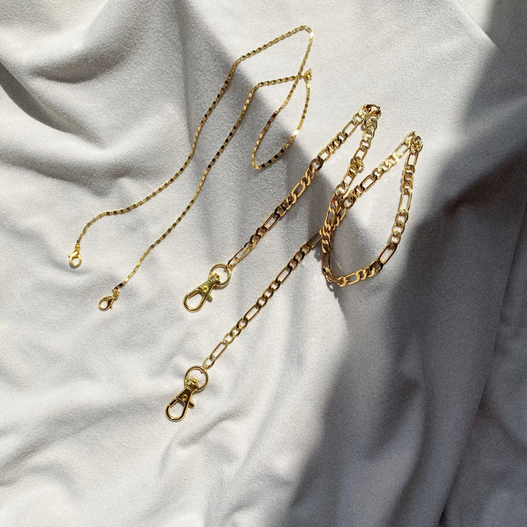 Golden 2.0 mask/eyeglass chains