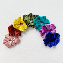 Load image into Gallery viewer, No. 1 Crush velvet scrunchies