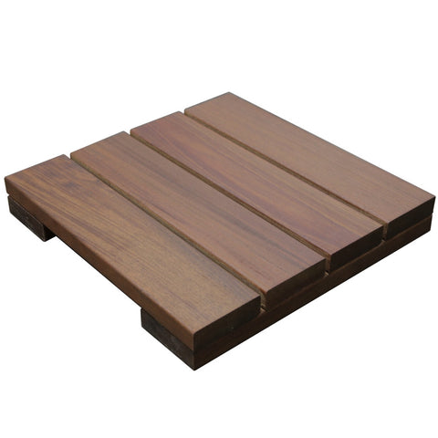 Ipe Deck Tiles 12 x 12 - Smooth