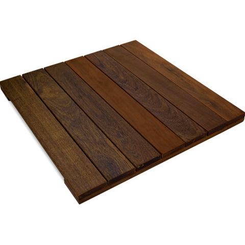 Ipe Deck Tiles 20 x 20 - Smooth
