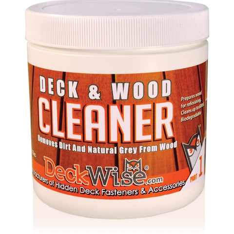 DeckWise® Deck & Wood Cleaner (Part 1)