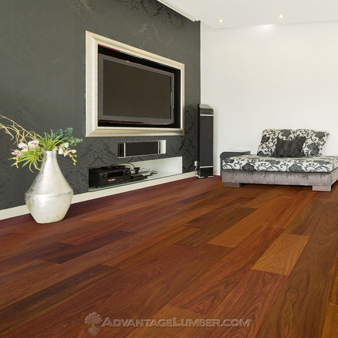 "Engineered Ipe Flooring 5"" - Prefinished Natural"