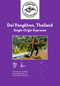 Thailand Doi Pangkhon - Single Origin Espresso