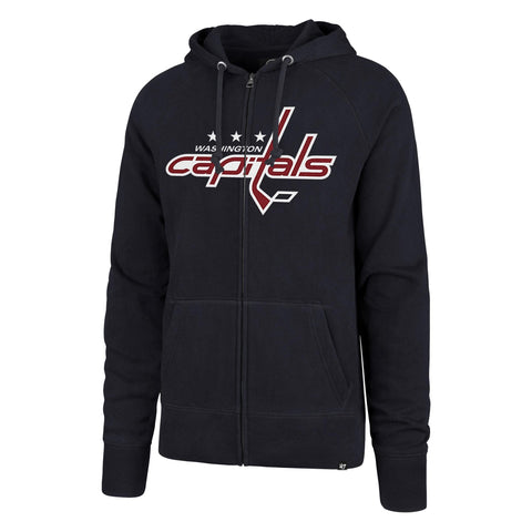 NHL Washington Capitals Ovation '47 Headline Full Zip Raglan Hood