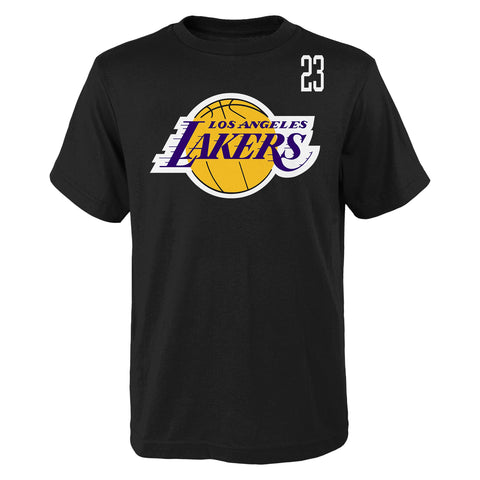 NBA Los Angeles Lakers Lebron James Standing Tall SS Tee