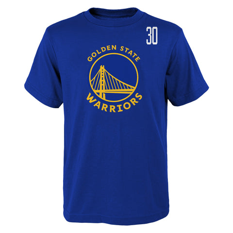 NBA Golden State Warriors Stephen Curry Standing Tall SS Tee