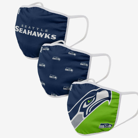 Seattle Seahawks Masken 3er Pack