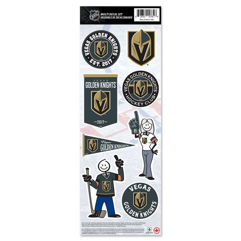 Vegas Golden Knights Stickers 8er Set