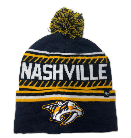NHL Nashville Predators Ice '47 CUFF KNIT Beanie