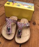 Glitter sandals-Shoes-Elane's Boutique