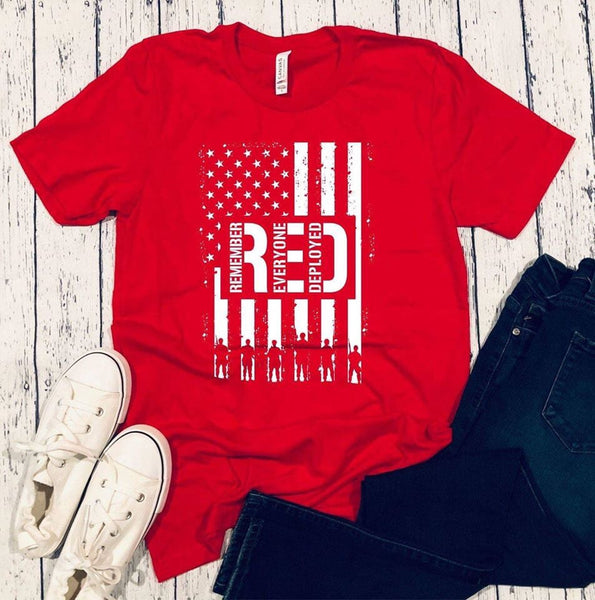 RED deployed-Elane's Boutique