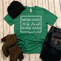 Mom hard wife hard nurse hard repeat-Elane's Boutique