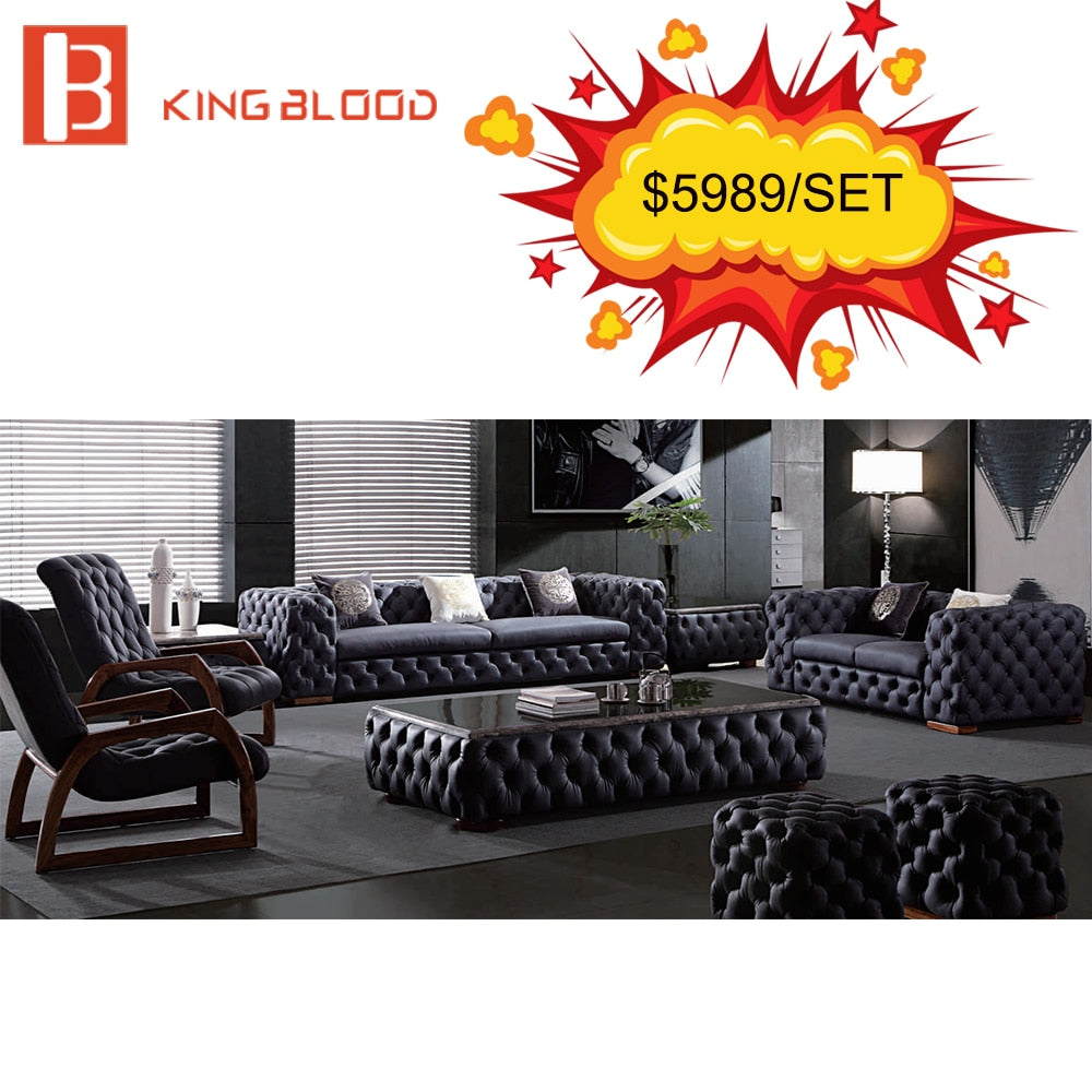 - Classic Antique Chesterfield Leather Sofa Set – Appmobileinfo