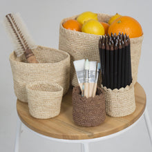 Load image into Gallery viewer, Detail Set of 3 Baskets.jpg