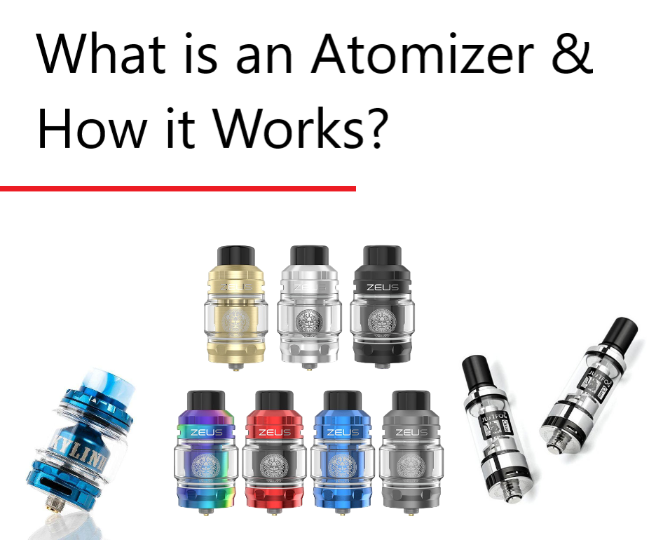What is an atomizer & How does an atomizer work?