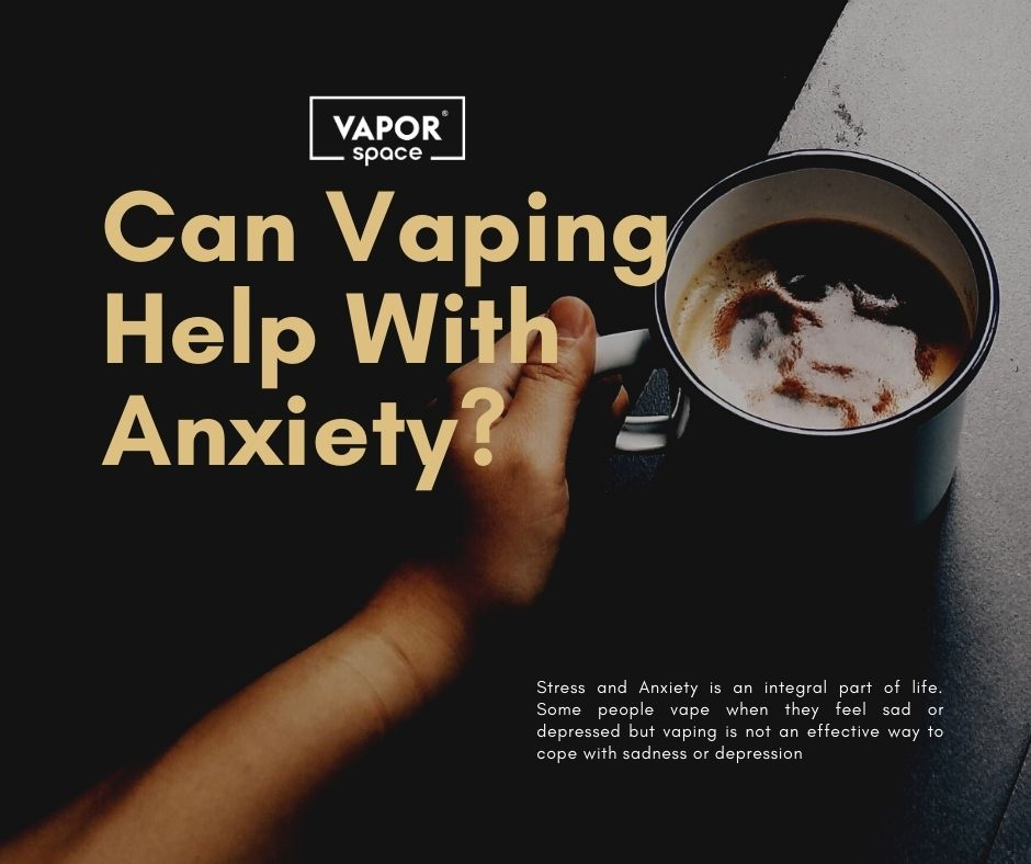 Some people vape when they feel sad or depressed and also do it to leave cigarettes. There are many other reasons that few people love the flavor of vape. Some feel confident by just grabbing something from which they can take a puff. It is a relaxed feeling to have a vape mod or pod in hand, and it's that comfort that some people slant on to get rid of their anxiety. They want peace and comfort during vaping; therefore, they feel it is more comfortable to take puffs rather than their time for anxiety.