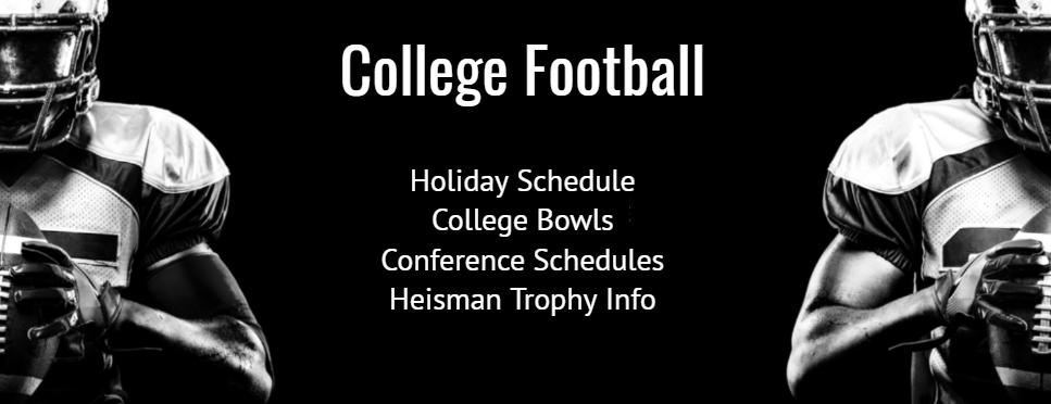 Remaining 2020 College Football Game & Event Schedule
