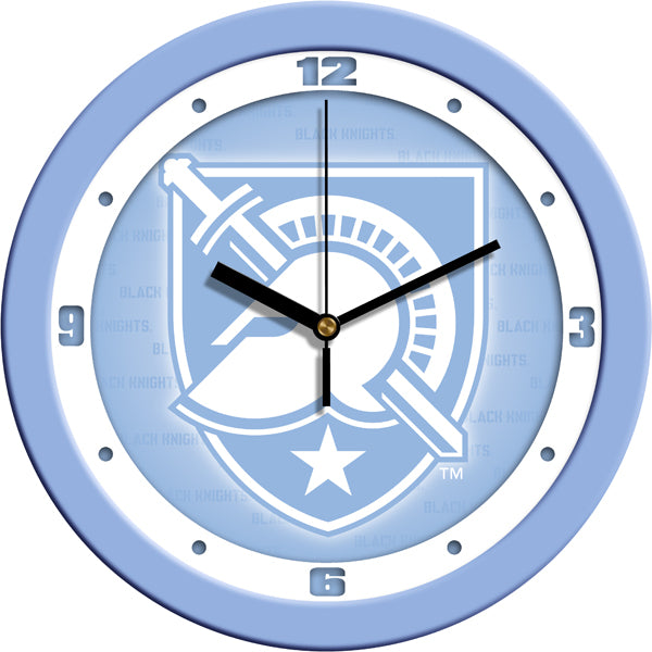 Army Black Knights - Baby Blue Wall Clock - SuntimeDirect