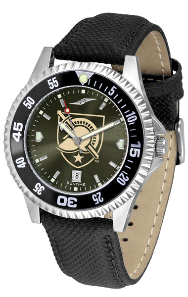Army Black Knights - Competitor AnoChrome  -  Color Bezel - SuntimeDirect
