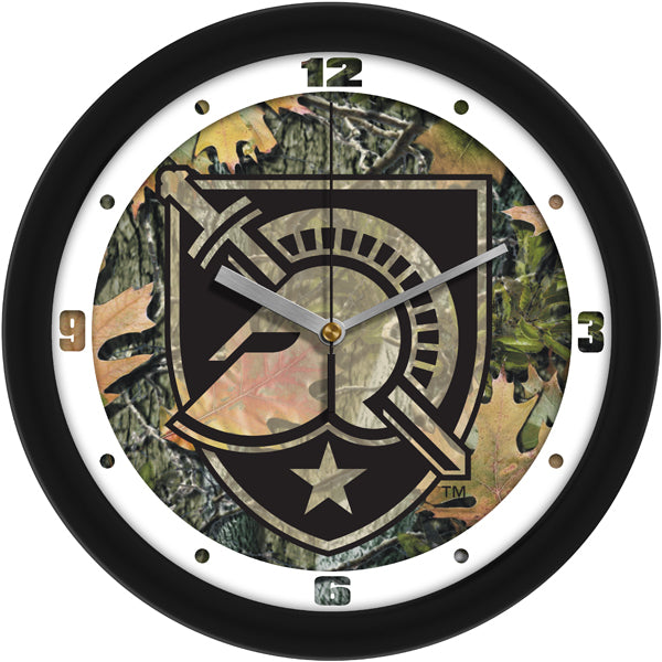 Army Black Knights - Camo Wall Clock - SuntimeDirect