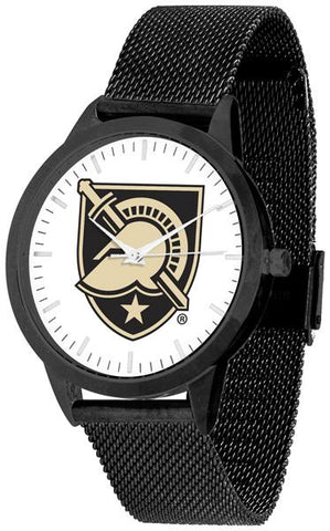 Army Black Knights - Mesh Statement Watch - Black Band - SuntimeDirect