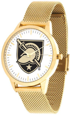 Army Black Knights - Mesh Statement Watch - Gold Band