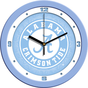 Alabama Crimson Tide - Baby Blue Wall Clock