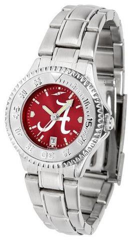 Alabama Crimson Tide - Ladies' Competitor Watch - SuntimeDirect